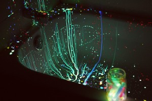 Glowsticks in the Bathtub